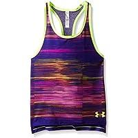 Under Armour Luna - Camiseta de Tirantes para niña, Color Morado (Purple Sky), Talla L (Taille Fabricant : YLG)