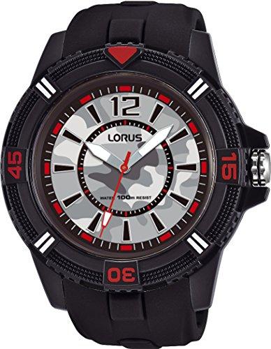 Lorus Reloj Analogico para Hombre de Cuarzo con Correa en Silicona RRX43FX9