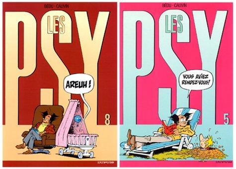 2 BD pour le prix d'1 : Les Psy, tome 8 + le tome 5 gratuit