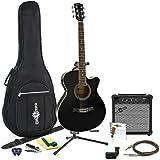 Guitarra Electroacústica Single Cutaway + Pack Completo de Gear4music