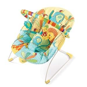 Bright Starts Sunnyside Safari Bouncer (Multicoloured, Newborn+)
