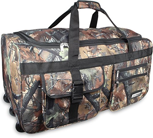 XXXL -Trolley - Jumbo Travel Reisetasche - Riesen Volumen forest