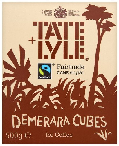 Tate and Lyle Fairtrade Demerara Cubes for Coffee 500 G