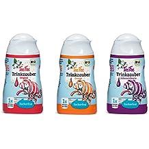 TeeFee Bio Sirup Trinkzauber Trio - zuckerfreier Sirup (Orange, Hibiskus und Johannisbeere, jeweils 48ml) | ohne Kalorien | voller Geschmack