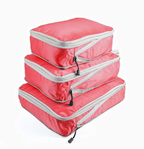 Kofferraum Organizer Cube (ZHICHUAN Dreiteilige Aufbewahrungstasche Komprimierbare Aufbewahrungstasche Aufbewahrungstasche Für Reisen Staubdichte Aufbewahrungstasche Für Reisen)