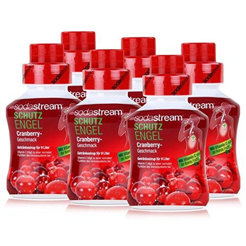 SODASTREAM SCHUTZENGEL 6x Cranberry 375 ml