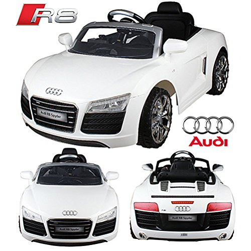 kinderauto audi r8 spyder v10 coupe im test. Black Bedroom Furniture Sets. Home Design Ideas