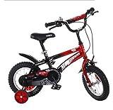 LYM &Poussette de bébé Bicyclette pour Enfants 2/3/4/5/6/7 Ans Bicyclette pour Enfant 12 Pouces