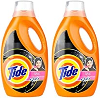 Tide Abaya Liquid Detergent with Touch of Downy - Pack of 2-Pieces (2 x 1.85 L)