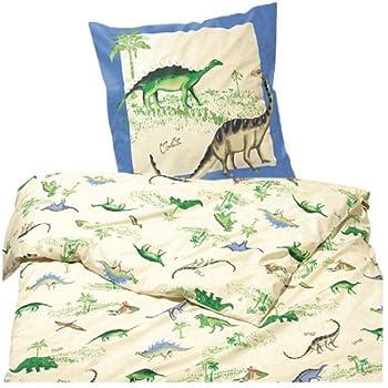Tchibo Kinder-Bettwäsche Dinosaurier 135 x 200cm: Amazon