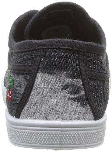 Le Temps des Cerises - Basic 02, scarpe da ginnastica  da donna Nero(Black (Tie & Dye Black))