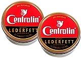 Centralin® Feines Lederfett Schwarz, 2 x 150 ml