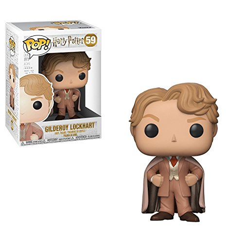 Funko Pop! - Pop Movies: Harry Potter-Gilderoy Lockhart Figura de Vinilo 30031