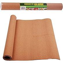 Rollo de corcho adhesivo para corte, 100x 45cm