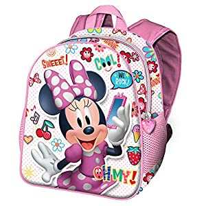 Karactermania Minni Mouse Ohmy! – Mochila Infantil, Multicolor, 30 cm