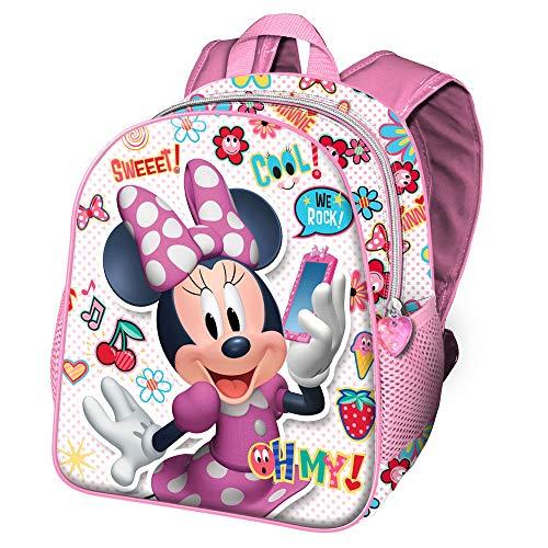 Karactermania Minnie Mouse OhMy!-Sac à dos pour Maternelle Zainetto per bambini, 30 cm, 7 liters, Multicolore (Multicolour)