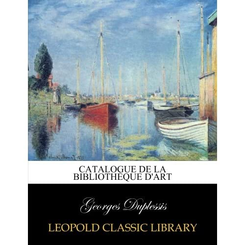 Catalogue de la bibliothèque d'art