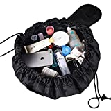 Angeloo Magic Travel Pouch Large Capacity Vely Toiletry Bag Cosmetic Storage Organizer Pouch