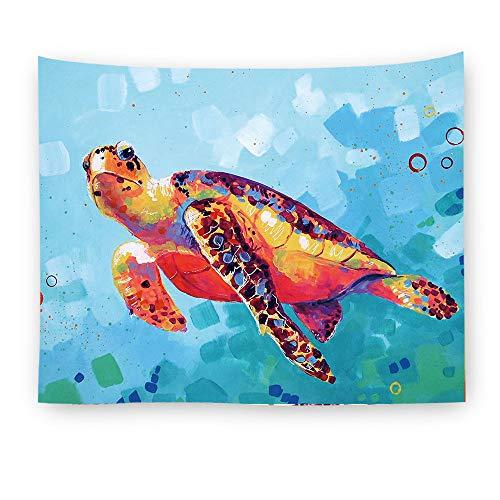 jtxqe Digitaldruck Hause Tapisserie Wand Decke Elefanten aquarell Tier Neue Art 2 150 * 130 -