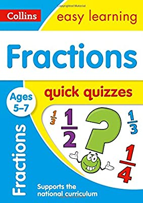 Fractions Quick Quizzes Ages 5-7 (Collins Easy Learning KS1) from Collins