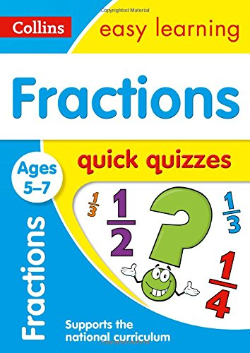 Fractions Quick Quizzes Ages 5-7 (Collins Easy Learning KS1) par Collins Easy Learning