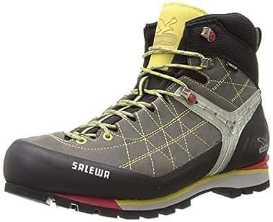 Salewa Mens MS RAPACE GTX Trekking & Hiking Shoes Gray Grau (Grey/Yellow 408) Size: 47