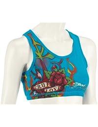 Ed Hardy Sports sports bra true love WSPTRU054 Damen Bustier
