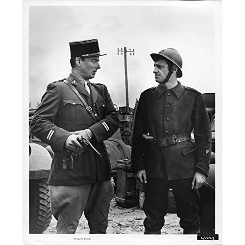 Fin de Semana en Dunkerque Película Todavía N5de 8x 10en.–1964–Henri Verneuil, Jean-Paul Belmondo