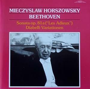 Miechyslaw Horszowski:BEETHOVEN PIANO SONATAS NO. 26 & DIABELLI VARIATIONS - RELIEF 1991