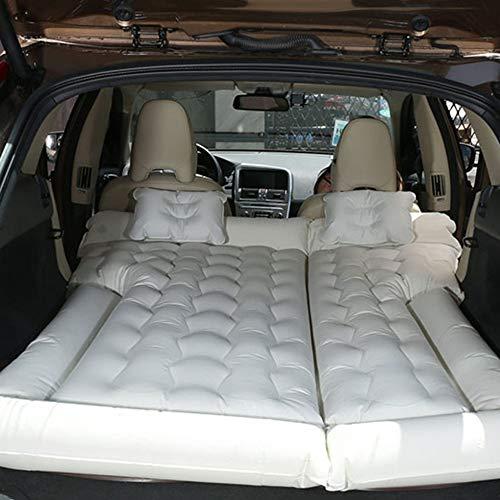 Mobile Trunk (ERHANG Multifunktionale Mobile Aufblasbare Luftmatratze Schockbett SUV Trunk Reise Faltbare Tragbare Kind Erwachsene Bett,Beige)