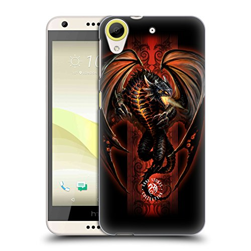 Official Anne Stokes Lava Dragon Fire Tribal Hard Back Case for HTC Desire 650