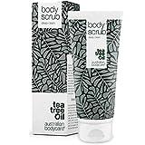 Australian Bodycare Body Scrub (200 ml) Körperpeeling mit Teebaumöl gegen Pickel, unreine Haut, eingewachsene Haare und trockene Haut. Geeignet für empfindliche Haut & Allergie Haut. Vegan und ohne Parabene. Bekannt aus der Apotheke. Ohne Mikroplastik.