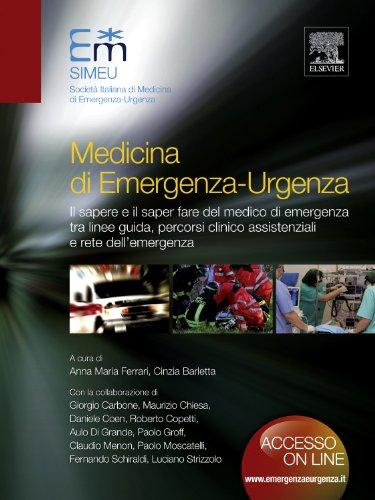 Il presente volume di Medicina di Emergenza-Urgenza, redatto dalla Faculty della Società Italiana di medicina di Emergenza-Urgenza - SIMEU, si propone come testo aggiornato, Evidence Based, per la gestione delle emergenze. Il paziente viene seguito d...