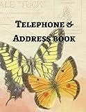 Telephone & Address Book: Volume 4 (Large Print)