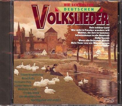 Die schönsten deutschen Volkslieder (Tölzer Knabenchor, Rene Kollo a.m.m.)