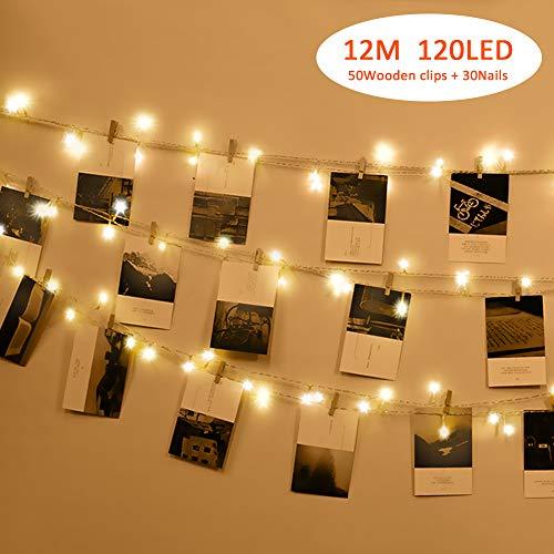 Foto Clip Cadena de Luces LED