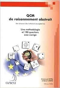 livre qcm de raisonnement abstrait pdf