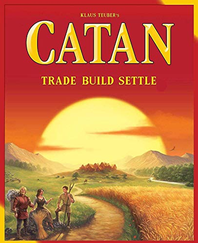 Once More New Small Catan Board Game Trade Build Settle