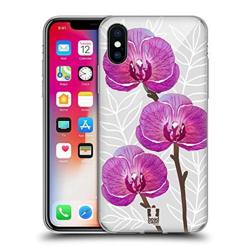 Head Case Designs Frangipani Aquarell Und Blumen 2 Soft Gel Hülle für Apple iPhone 6 / 6s Orchideen