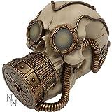 Steampunk mecánica gafas de mascarilla cráneo máscara de gas...