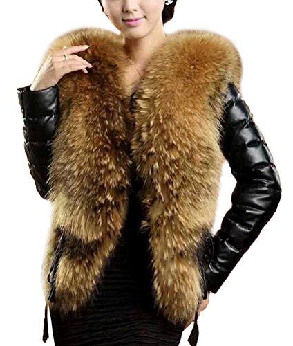 Berühmte Marke Business Casual Winter Männer Unten Jacke Warme Starke Abnehmbare Kragen Große Pelz Kragen Männer Der Winter Kleidung Modische Muster Schmuck & Zubehör