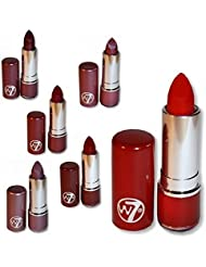 Set Of Six W7 W.Seven Lipsticks - The Reds RRP £24