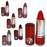 W7 Lipsticks Review and Comparison