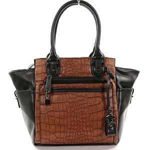 Grand sac à main cabas camel - modéle Warrant - Sacs portés épaule - Best1113camel