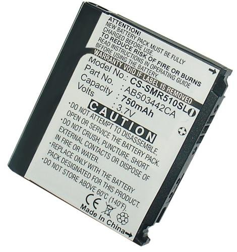 Bluetrade High-End Lithium-Ionen-Batterie (750 mAh) für Samsung SPH-M520/SCH-R500/SCH-R510/SGH-T519/SCH-R610/SGH-T729/SCH-R500/SGH-E480/SGH-U100/SGH-U1