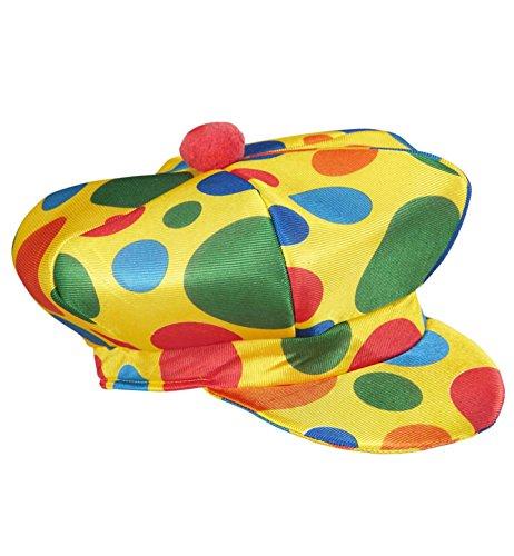 WIDMANN Clownmütze Clownmütze und Kopfbedeckung für Kostüme