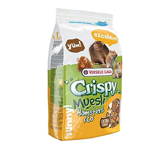 VERSELE LAGA a-17678 Crispy Muesli Hamster – 400 GR