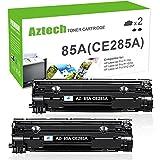 Aztech 2 Pack 85A Kompatibel für HP 85A CE285A HP P1102W Toner für Druckerpatrone HP Laserjet P1102W HP P1102 W M1212NF MFP M1132 M1210 M1130 M1217NFW