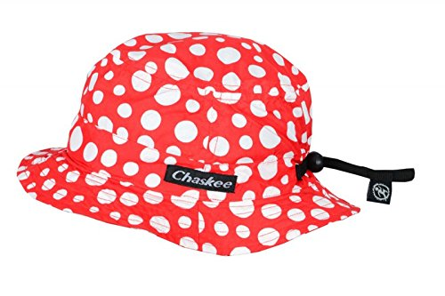 Chaskee Junior Bob Dots Kinderhut, Farbe:red-White
