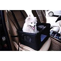Perro Asiento de coche para perros pequeños correa cierre viaje vacaciones
